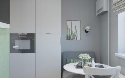 Люблинская. Дизайн проекта квартиры для холостяка