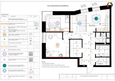 Реутов. Фото плана осветления Разработка дизайн проекта