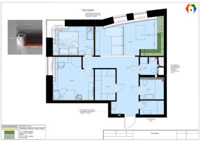 Реутов. Фото плана потолка. Разработка дизайн проекта