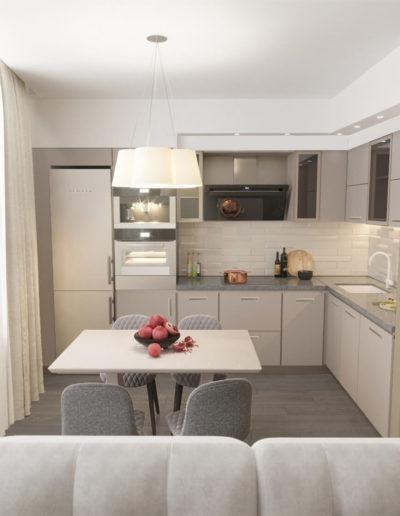 Реутов. Фото визуализации кухни. Фото визуализации столовой. Фото визуализации кухни. Фото визуализации кухни-гостиной. Разработка дизайн проекта