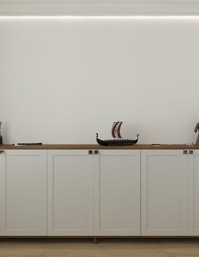 Седова. Фото визуализации кабинета. Разработка дизайн проекта