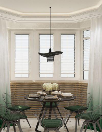 Седова. Фото визуализации кухни. Разработка дизайн проекта
