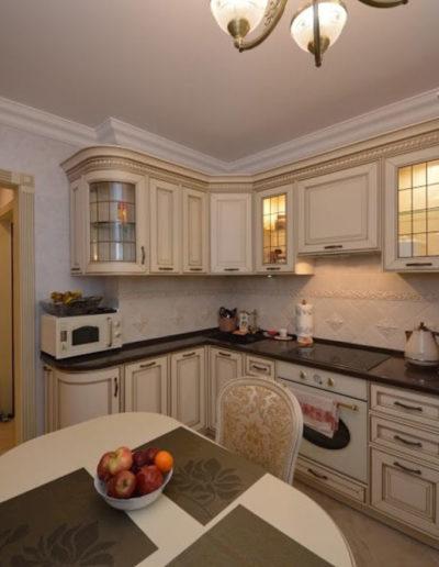 Новокосино. Фото зоны кухни. Фото кухни. Фото завершенного ремонта. Ремонт кухни. Ремонт квартиры