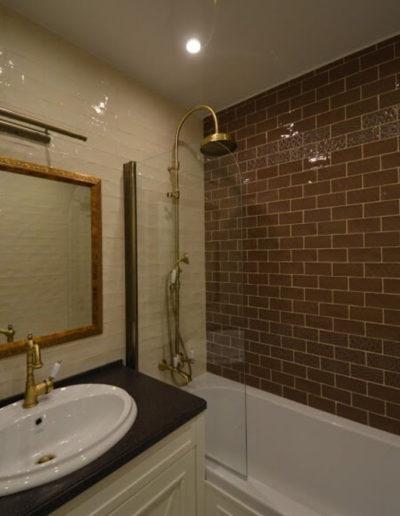 Новокосино. Фото зоны ванной. Фото ванной комнаты. Фото завершенного ремонта. Ремонт ванной комнаты. Ремонт квартиры
