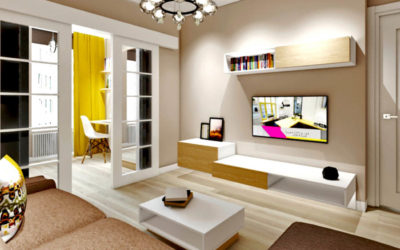Березовая аллея. Дизайн проект двухкомнатной квартиры