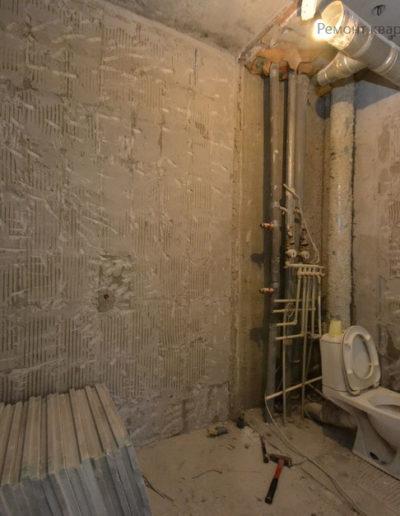 Фортунатовская. Фото процесса ремонта. Ремонт квартиры