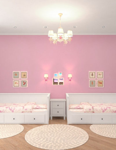 Красноказарменная. Фото визуализации детской комнаты. Визуализация детской. Детская комната. Разработка дизайн проекта