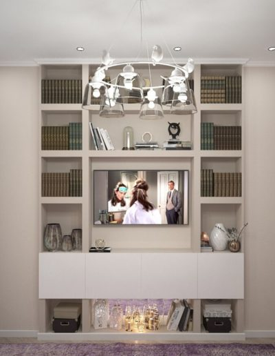 Красноказарменная. Фото визуализации спальни с гардеробной. Визуализация спальни и гардеробной. Спальня. Гардеробная. Разработка дизайн проекта