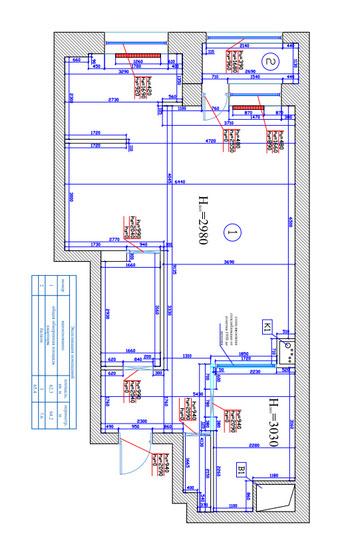 Бутово парк. Фото обмерного плана. Обмерный план. Завершенный ремонт квартиры. Капитальный ремонт