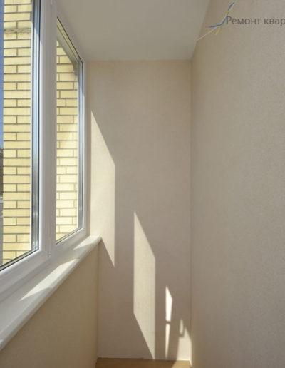 Фортунатовская. Фото завершенного ремонта балкона. Завершенный ремонт балкона. Ремонт балкона. Балкон. Завершенный ремонт квартиры