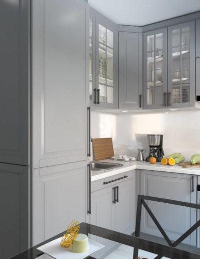 Винницкая. Фото визуализации кухни. Визуализация кухни. Кухня. Разработка дизайн проекта