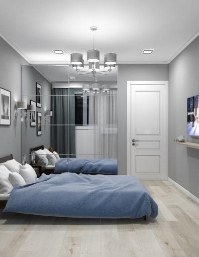 Винницкая. Фото визуализации спальни. Визуализация спальни. Спальня. Разработка дизайн проекта