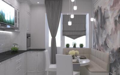 Производственная. Дизайн квартиры с использованием нескольких стилей