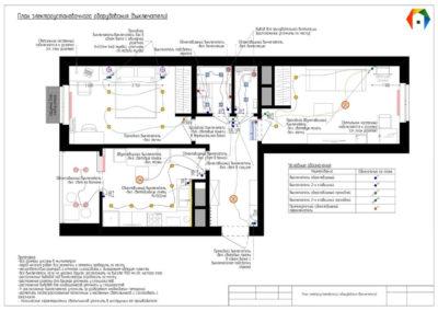 Лучи. Фото плана электроустановочного оборудования (выключателей). Фото плана расположения выключателей. План электроустановочного оборудования. План расположения выключателей. Разработка дизайн проекта. Дизайн-проекта