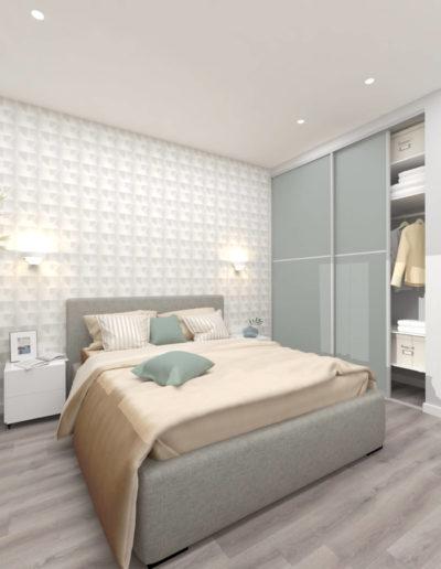 Лучи. Фото визуализации спальни. Визуализация спальни. Спальня. Разработка дизайн проекта. Дизайн-проект
