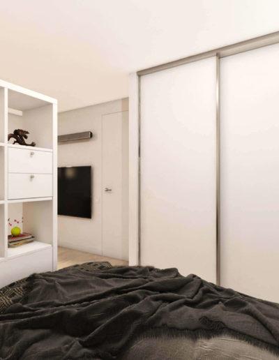 Северный бульвар. Фото визуализации спальни. Визуализация спальни. Спальня. Разработка дизайн проекта. Дизайн-проект