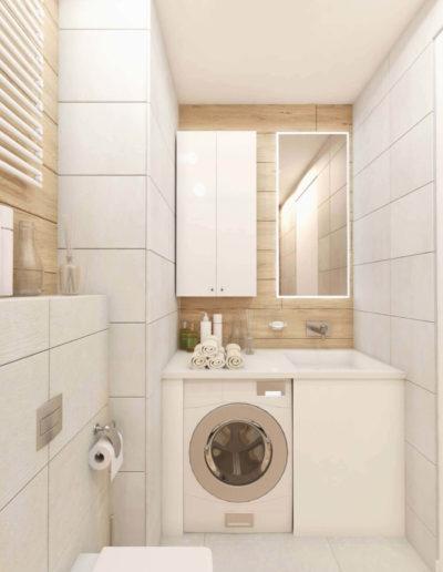 Северный бульвар. Фото визуализации ванной комнаты. Визуализация ванной. Ванная комната. Разработка дизайн проекта. Дизайн-проект