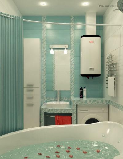 Марьина роща. Фото завершенного ремонта ванной. Ремонт ванной. Капитальный ремонт квартиры. Ремонт под ключ. Ванная комната