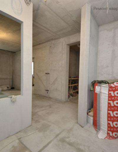 СкайФорт. Фото процесса ремонта. Ремонт квартиры. Фото ремонтных работ