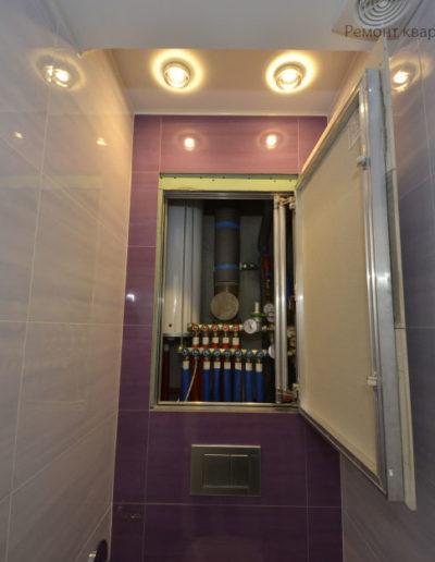 Зябликово. Фото завершенного ремонта санузла. Фото завершенного туалета. Фото санузла после ремонта. Ремонт под ключ. Ремонт квартиры. Санузел. Туалет