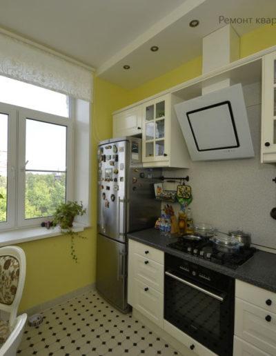 Кузьминки. Капитальный ремонт квартиры. Капитальный ремонт кухни. Фото завершенного ремонта кухни. Ремонт кухни. Кухня