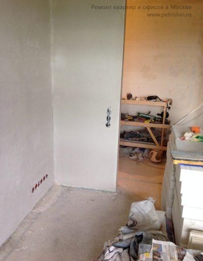 Южное Тушино. Фото процесса ремонта квартиры. Ремонтные работы