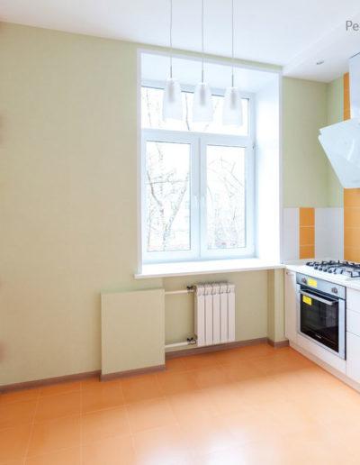 Марьина роща. Фото завершенного ремонта кухни. Ремонт кухни. Капитальный ремонт квартиры. Ремонт под ключ. Кухня