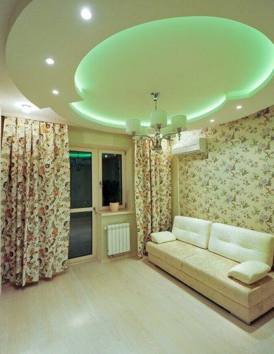 ЖК Скай Форт. Фото реализованного ремонта комнаты для гостей. Фото завершенного ремонта гостевой. Комната для гостей. Фото завершенного ремонта. Ремонт квартиры. Ремонт в новостройке