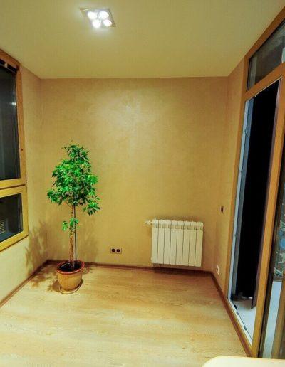 ЖК Скай Форт. Фото реализованного ремонта комнаты для кабинета. Фото завершенного ремонта кабинета. Кабинет. Фото завершенного ремонта. Ремонт квартиры. Ремонт в новостройке