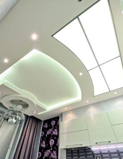 ЖК Скай Форт. Фото реализованного ремонта кухни. Фото завершенного ремонта кухни. Кухня. Фото завершенного ремонта. Ремонт квартиры. Ремонт в новостройке