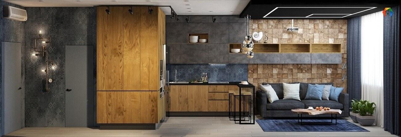 Волоколамское шоссе. Фото визуализации кухни-гостиной. Фото визуализации прихожей. Фото визуализации кухни. Фото визуализации гостиной. Визуализация кухни-гостиной. Визуализация кухни. Визуализация гостиной. Визуализация прихожей. Кухня-гостиная. Кухня. Гостиная. Прихожая. Разработка дизайн проекта. Дизайн-проект квартиры