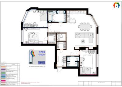 Символ. Фото плана отделки помещения. План отделки помещения. Разработка дизайн проекта. Дизайн-проект квартиры