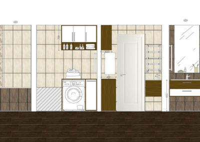 Флотская. Фото коллажа ванной. Коллаж ванной. Ванная комната. Разработка дизайн проекта. Дизайн-проект квартиры