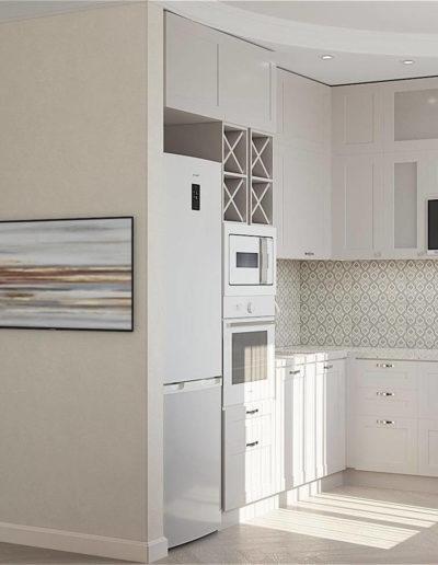 Измайловский бульвар. Фото визуализации кухни-гостиной. Фото визуализации кухни. Фото визуализации гостиной. Визуализация кухни-гостиной. Визуализация кухни. Визуализация гостиной. Кухня-гостиная. Кухня. Гостиная. Разработка дизайн проекта. Дизайн-проект квартиры