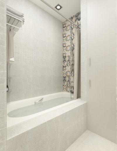Бульвар Генерала Карбышева. Фото визуализации ванной. Визуализация ванной. Ванная комната. Разработка дизайн проекта. Дизайн-проект квартиры