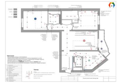 Золотой треугольник. Герасима Курина. Фото схемы подключения освещения. Схема подключения освещения. Дизайн-проект в скандинавском стиле. Разработка дизайн проекта. Дизайн-проект квартиры
