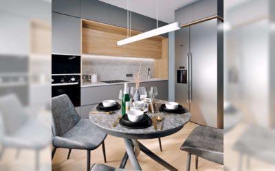Варшавское шоссе. Дизайн-проект «умной квартиры» для молодой семьи.