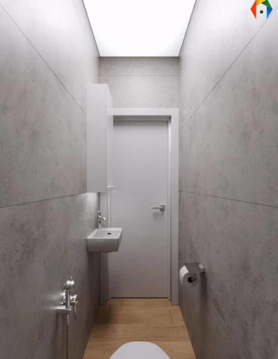 Варшавское шоссе. Фото визуализации санузла. Фото визуализации туалета. Визуализация санузла. Визуализация туалета. Санузел. Разработка дизайн проекта. Дизайн-проект квартиры